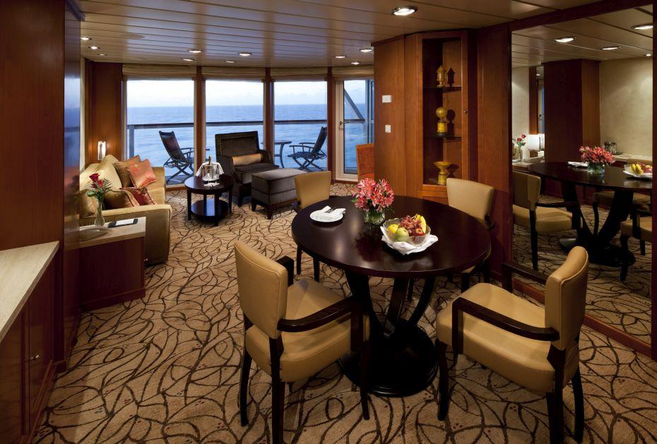 Celebrity Infinity - Celebrity Cruises - Penthouse Suite na lodi