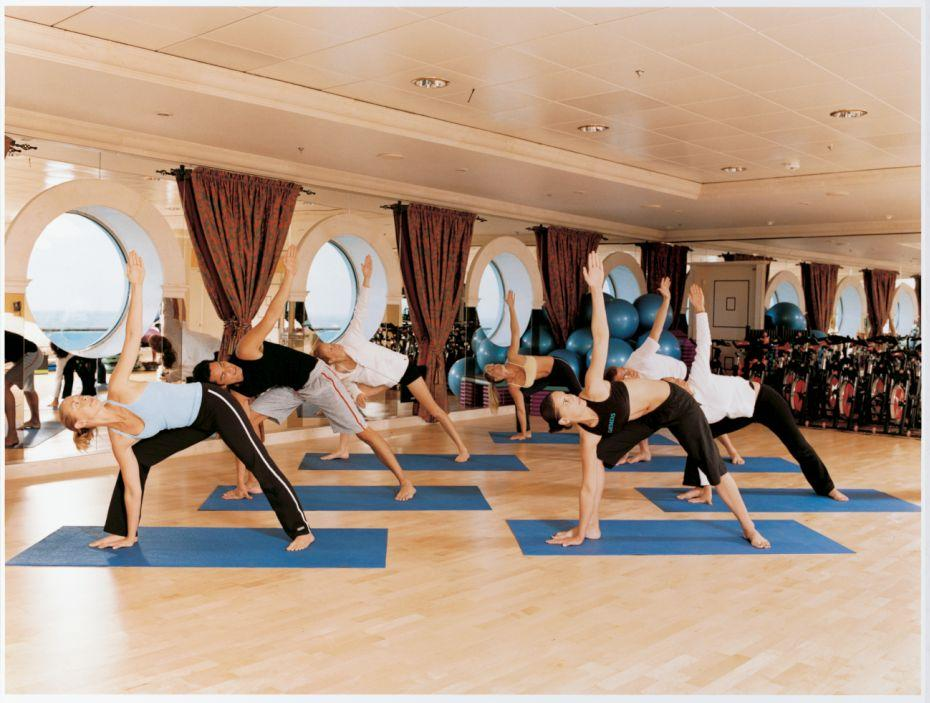 Navigator of the Seas - Royal Caribbean International - fitness centrum