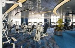 MS Oosterdam - Holland America Line - fitness centrum na lodi