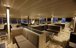 Plancius - Oceanwide Expeditions - krásný Lounge prostor na lodi