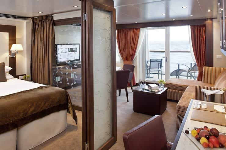 Seabourn Sojourn - Seabourn Cruise Line - Penthouse Spa Suite