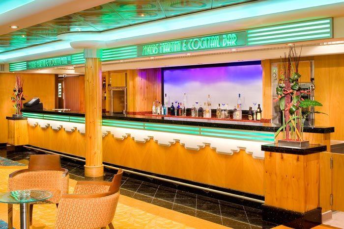 Norwegian Jade - Norwegian Cruise Lines - Mixer's Martini and Coctail Bar