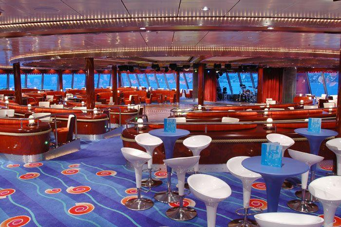 Norwegian Jewel - Norwegian Cruise Lines - Spinnaker Lounge