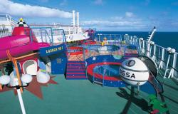 Norwegian Star - Norwegian Cruise Lines - klub Planet Kids pro děti do 12 let