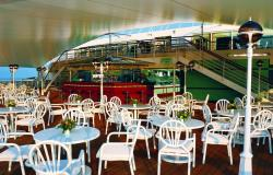 Norwegian Sun - Norwegian Cruise Lines - venkovní samoobslužná restaurace The Great Outdoors