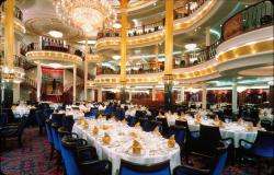Adventure of the Seas - Royal Caribbean International - luxusní jídelna