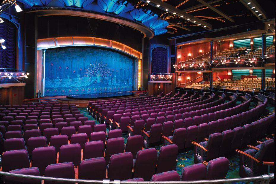 Adventure of the Seas - Royal Caribbean International - divadlo The Lyric
