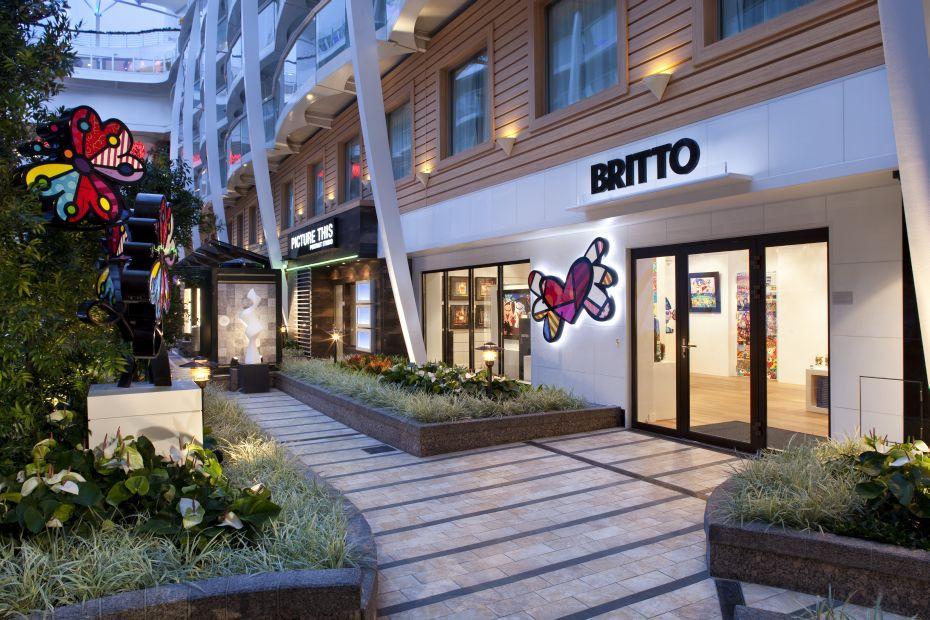 Allure of the Seas - Royal Caribbean International - obchod Britto