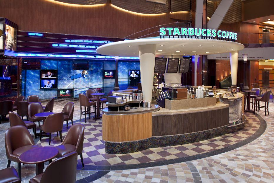 Allure of the Seas - Royal Caribbean International - Starbucks Coffee