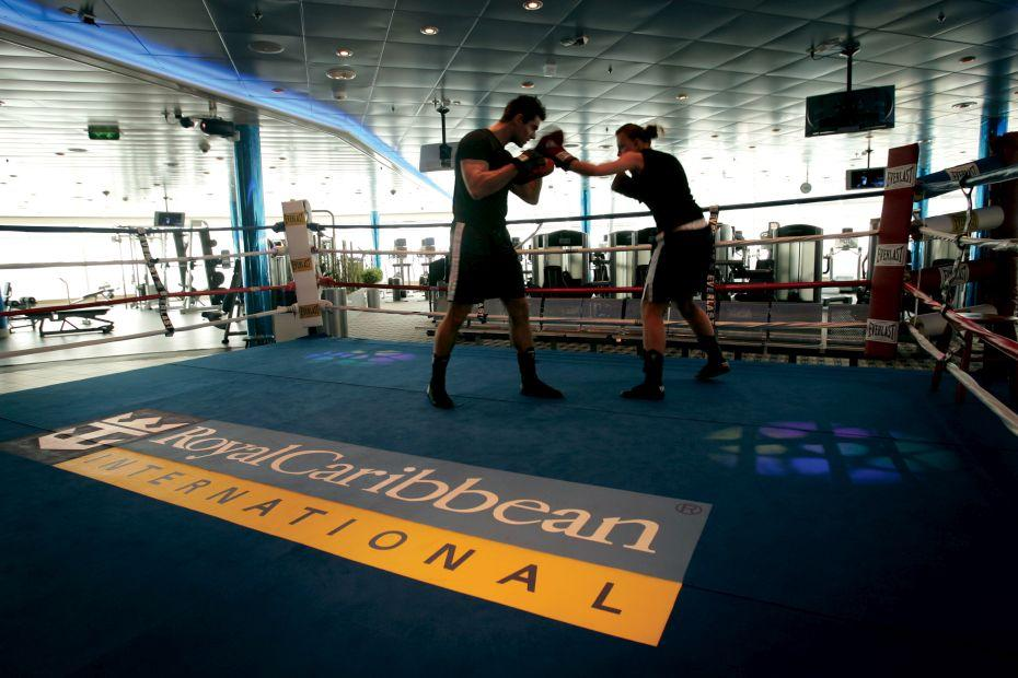 Freedom of the Seas - Royal Caribbean International - boxovací ring