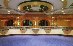 Jewel of the Seas - Costa Cruises - recepce na lodi