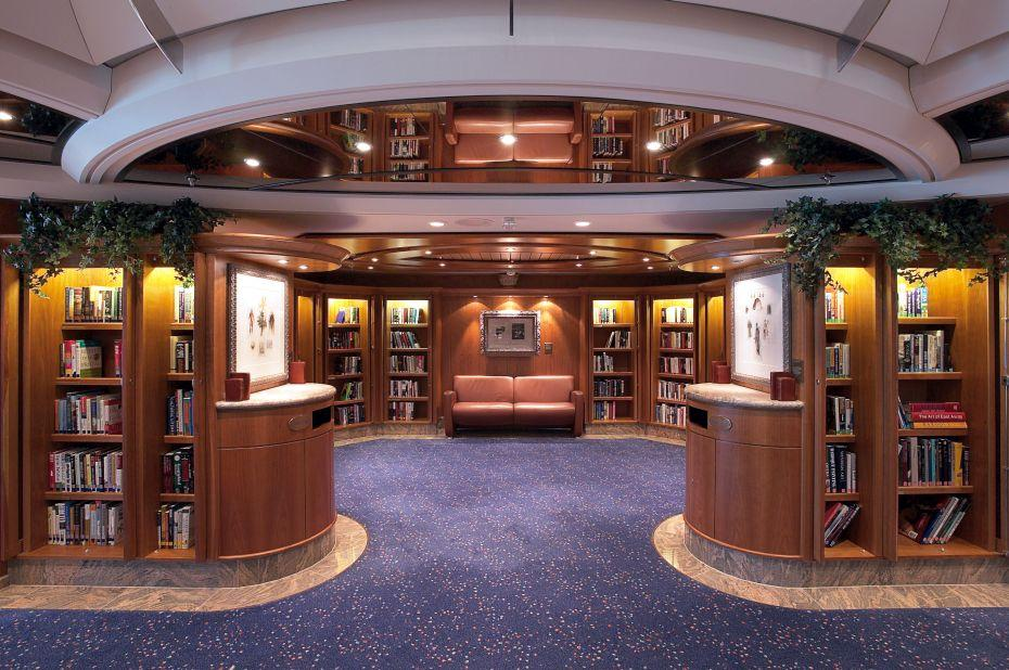 Jewel of the Seas - Royal Caribbean International - knihovna