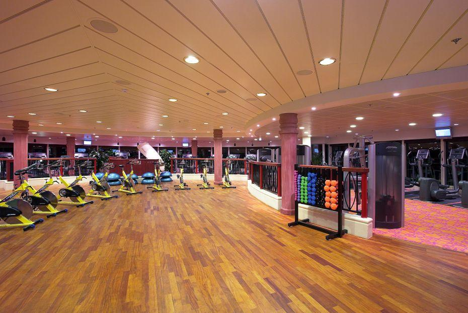 Jewel of the Seas - Royal Caribbean International - posilovna a fitness centrum na lodi