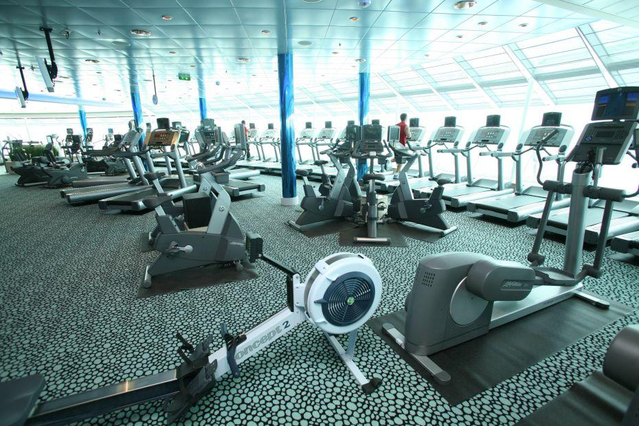 Liberty of the Seas - Royal Caribbean International - ShipShape® Fitness centrum
