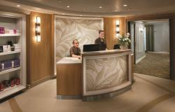 Splendour of the Seas - Royal Caribbean International - recepce u fitness centra