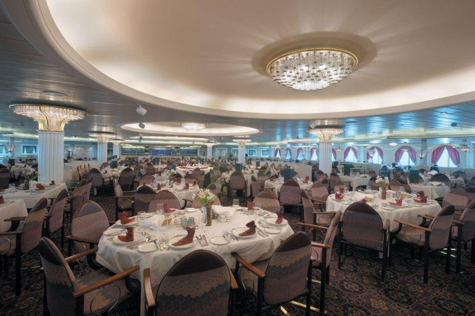 Majesty of the Seas - Royal Caribbean International - restaurace na lodi